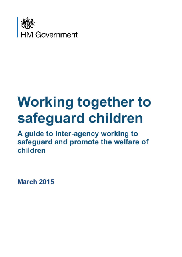 Working Together to Safeguard Children 2015