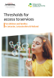 View the LLR SCP Thresholds for access to services for children and families in Leicester, Leicestershire & Rutland