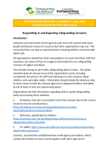 Safeguarding Briefing Number 4 - May 2020
