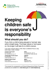 Keeping Children Safe Poster