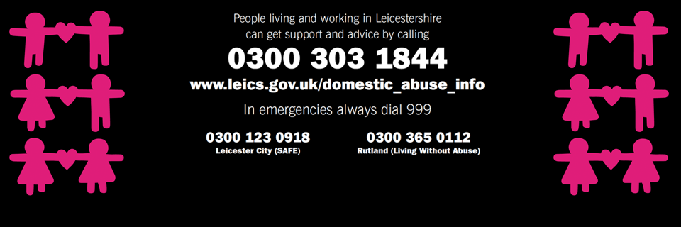 Anyone can be a victim of domestic abuse