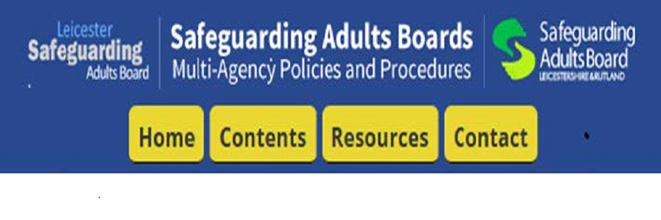 Safeguarding Adults Multi Agency Policy and Procedures now online
