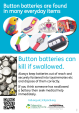 Button Battery Safety Poster